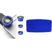 Mobile clip Lens & Y4 bluetooth speaker for all Smart phones||3 in 1 Lens|| Fish Eye Lens|| Macro Lens|| Wide Angle Lens Mobile Lens||Universal Mobile Lens ||Telescope Lens||Zoom Lens
