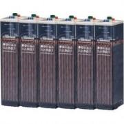 Batería Estacionaria 525ah C100, 6 Vasos X 2v Hoppecke 5 Opzs 350 O Po