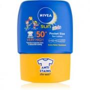 Nivea Sun Kids Pocket-Sonnenmilch für Kinder SPF 50+ 50 ml