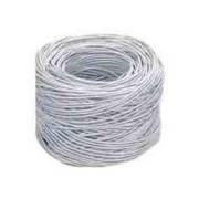 BOBINA UTP5E CONDUMEX (CM) BRAVO TWIST/AISLA POLIETILENO/CUBIERTA EXT PVC/24 AWG/305 METROS/GRIS