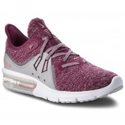 Nike Buty NIKE - Air Max Sequent 3 908993 606 Bordeaux/Elemental Pink