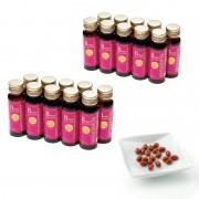 プラセンタ100 ドリンク20本+プラセンタ20粒付【QVC】40代・50代レディースファッション