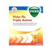 Procter & Gamble Srl Vicks Flu Tripla A*os Polv10bs