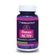 Detox activ 30cps HERBAGETICA