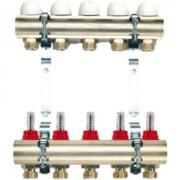 Distribuitor-colector 5 circuite cu debitmetre