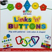Play and Learn. Links'n' Buttons. Play With Patterns! . Link Colors & Shapes!