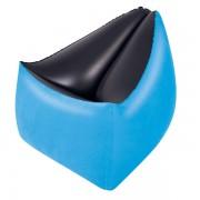 Felfújható, komfortos ülőke Moda kék SMA 095