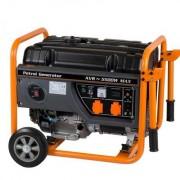 Generator curent Stager GG 6300 W ,volum rezervor 25 l ,putere 6300 wati , demaror cu sfoara