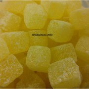Tilleys Pineapple Cubes Traditional Boiled Sweets