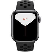 Apple Watch Series 5 Nike+ 40mm, asztroszürke alumíniumtok antracit-fekete Nike sportszíjjal
