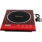 Poweronic PR-211 Induction Cooktop(Red, Touch Panel)