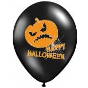 Vegaoo.es 6 Globos látex calabaza Happy Halloween
