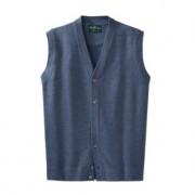 Alan Paine gebreid gilet van merinoswol 'Wash & Dry', 50 - jeans