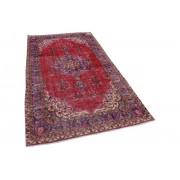 Rozenkelim vintage rood vloerkleed 285cm x 160cm