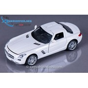 MZ - 1/32 Mercedes-Benz SLS AMG (6 Inches) (White)
