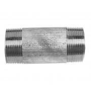 Tubo Ferro Zincato Filettato M1''1/2 200 Cm