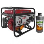 Generator curent MEDIA LINE MLG 2500/1 2.2KVA motor termic 6.5 CP monofazat combustibil benzina + CADOU ulei motor 4T AgroPro