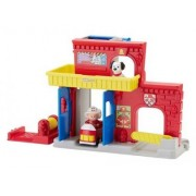 Fisher-Price - La Caserne De Pompiers Little People 1-5 Ans