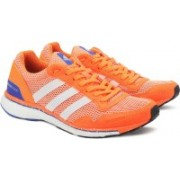 ADIDAS ADIZERO ADIOS W Running Shoes For Women(Orange)