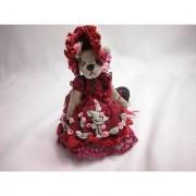 World of Miniature Bears 3 Plush Bear Emily #947 Collectible Miniature Bear Made by Hand