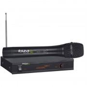 Ibiza VHF-1A, безжична система микрофони, голям честотен диапазон, 90 dB (VHF1A)