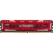 Memorija Crucial 16 GB DDR4 2400 MHz Ballistix Sport LT - Red, BLS16G4D240FSE