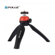 Bolsillo PULUZ Trípode Con Cabezal Esférico De 360 Grados Para Los Smartphones Para DSLR Rojo