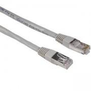 Мрежов пач кабел cat.5e, 1.5м, STP, Сив, HAMA-20140