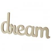 Maisons du monde Decoración de pared de madera L 65 cm DREAM