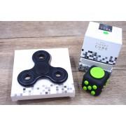 Set gadgeturi antistres Fidget Spinner + Fidget Cube