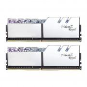 Memorie GSKill Trident Z Royal RGB Silver 16GB DDR4 3000MHz CL16 1.35v Dual Channel Kit