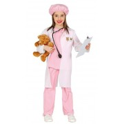 Guirca Disfraz de veterinaria para niña - Talla 3 a 4 años