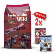 Taste Of The Wild Southwest Canyon - 13 Kg + 2 Conserve Taste of the Wild GRATIS