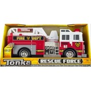 Tonka Rescue Force Lights And Sounds 12 Inch Ladder Truck Fire Dept 82