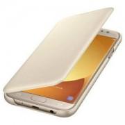 Калъф Samsung J730 Wallet Cover Gold, EF-WJ730CFEGWW