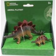 Set 2 figurine National Geographic Stegosaurus