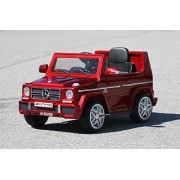 New Red G65 2016 Mercedes Licensed Ride-on Car for Kids 2-3 years old with Remote Control