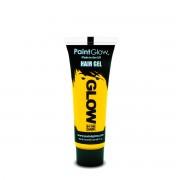 Gel UV galben pentru par PaintGlow - 10 ml