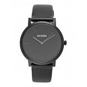 ユニセックス NIXON A1058 PORTER LEATHER 腕時計 ブラック