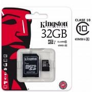 Memoria Micro Sd Hc I 32gb Kingston Clase 10 Ultra Mobile