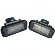 Lampa LED pentru Iluminare Numar Inmatriculare 7206, Mercedes C-Classs 2001-2007 W203 Sedan