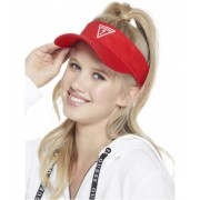 GUESS Classic Visor red