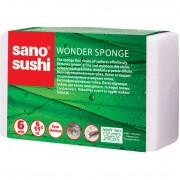 Burete magic Sano Sushi 6buc 11x2.5cm - multi-suprafete
