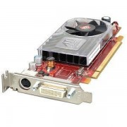 Placa Video Low Profile ATI HD 3450, 256 MB DDR2, 1 x S-Video, 1 x DMS59, Pci-e 16x