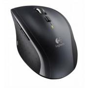 Egér, vezeték nélküli, lézeres, normál méret, USB, LOGITECH M705 Marathon, fekete (LGEM705)