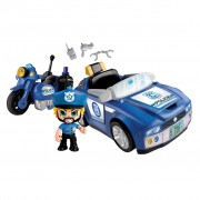 PinyPon Action Toy Police Vehicles