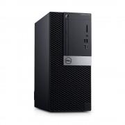 Desktop, DELL OptiPlex 7070 МТ /Intel i5-9500 (4.4G)/ 8GB RAM/ 256GB SSD/ Win10 Pro + подарък Mouse&KBD (N004O7070MT)