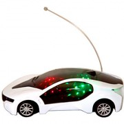ST Enterprises Remote Control Fast Modern Car with 3D Light and Go Forward Backward and Stop Features