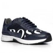 Boss Schuhe Herren, Textil, blau