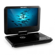 Majestic DVX 180 Lecteur DVD portable USB SD - noir